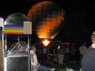 Hot air balloon by PeacemakerUta