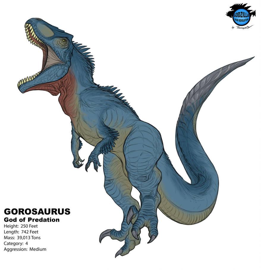 Kaiju Revolution: GOROSAURUS By Transapient On DeviantArt