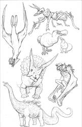 Kaiju Revolution: SKULL ISLAND MENAGERIE 2 by Transapient