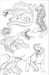 Kaiju Revolution: SKULL ISLAND MENAGERIE 3 by Transapient