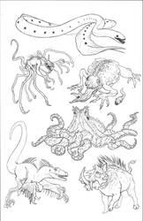Kaiju Revolution: SKULL ISLAND MENAGERIE 4 by Transapient