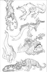 Kaiju Revolution: SKULL ISLAND MENAGERIE 9 by Transapient