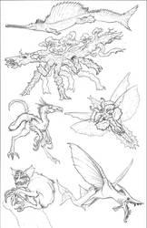 Kaiju Revolution: SKULL ISLAND MENAGERIE 11 by Transapient