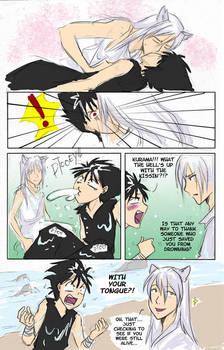 Kurama and hiei gay fan art