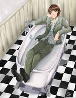 Bath Suit by laurbits