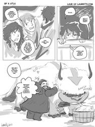 Crossover Meme: Hagrid n Appa by laurbits