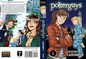 Polterguys Vol. 1 Cover Spread by laurbits