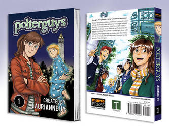 Polterguys Vol. 1 Book Mockup by laurbits
