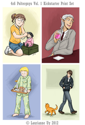 Vol. 1 Kickstarter Print Set by laurbits