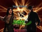 Inigo Montoya vs. Zorro poster by HookSilverSparrow
