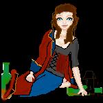 Pixel Doll 1 by HookSilverSparrow