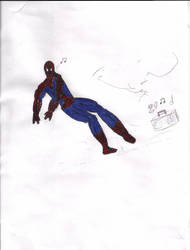Old Spidey 1 by HookSilverSparrow