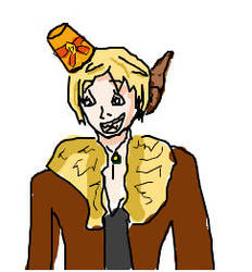 iscribble Oggie, just because. by HookSilverSparrow
