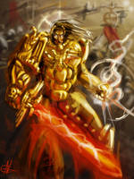 Emperor of Mankind by AspectusFuturus