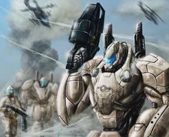 Future war by AspectusFuturus