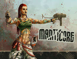 Meet the Manticore by AspectusFuturus
