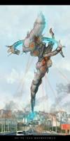 Alien mothership concept by AspectusFuturus