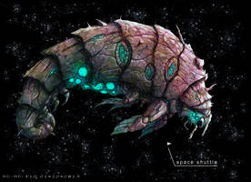 The Great Shrimp by AspectusFuturus