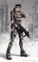 Trooper by AspectusFuturus