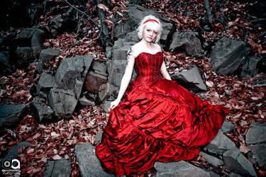 The Scarlet Dress - 3 by davidapuzzophoto