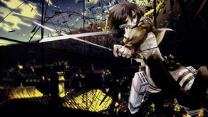 Attack on Titan Wallpaper by QuasiXi