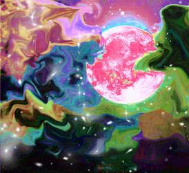 Moon Trip by ocelott-meow