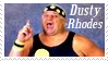 Dusty Rhodes Stamp 1 by dA--bogeyman