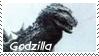 Monsters Stamp 1 : Godzilla by dA--bogeyman