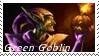 Green Goblin Stamp 8 by dA--bogeyman
