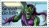 Green Goblin Stamp 2 by dA--bogeyman
