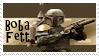 Star Wars Boba Fett Stamp by dA--bogeyman