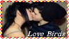 Lesbian Love Birds Stamp by dA--bogeyman