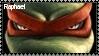 TMNT Raphael Stamp 1 by dA--bogeyman
