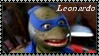 TMNT Leonardo Stamp 1 by dA--bogeyman