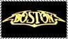Boston Classic Rock Stamp by dA--bogeyman
