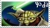 Clone Wars Master Yoda Stamp by dA--bogeyman