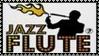 Jazz Flute Stamp by dA--bogeyman