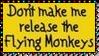 Release Flying Monkeys Stamp by dA--bogeyman
