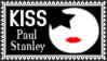 KISS Paul Stanley Stamp by dA--bogeyman