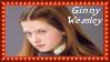 Ginger Ginny Weasley Stamp by dA--bogeyman