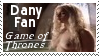 HBO Game of Thrones Daenerys 'Dany' Fan Stamp by dA--bogeyman