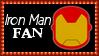 Marvel Comics Iron Man Fan Stamp by dA--bogeyman