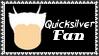 Marvel Comics Quicksilver Fan Stamp by dA--bogeyman