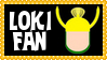Marvel Comics Loki Fan Stamp by dA--bogeyman