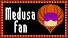 Marvel Comics Medusa Fan Stamp by dA--bogeyman