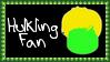 Marvel Comics Hulkling Fan Stamp by dA--bogeyman
