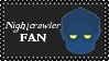 Marvel Comics Nightcrawler Fan Stamp by dA--bogeyman