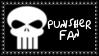 Marvel Comics Punisher Fan Stamp by dA--bogeyman