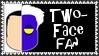 DC Comics Two-Face Fan Stamp by dA--bogeyman