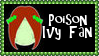 DC Comics Poison Ivy Fan Stamp by dA--bogeyman